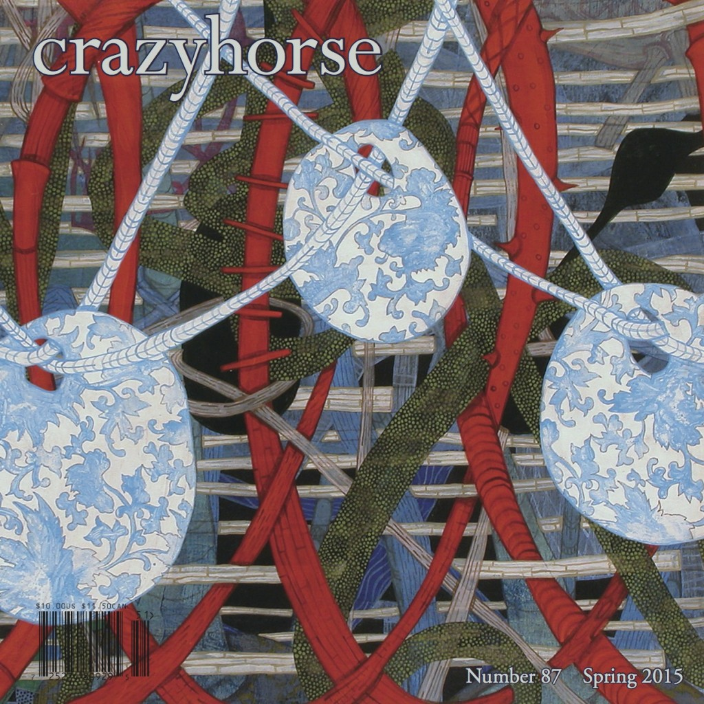 Our current issue, Crazyhorse no. 87