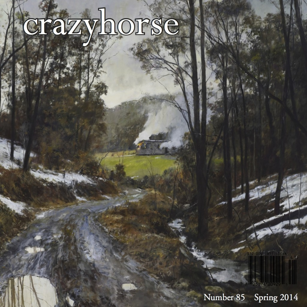 Crazyhorse #85, Coming Soon!
