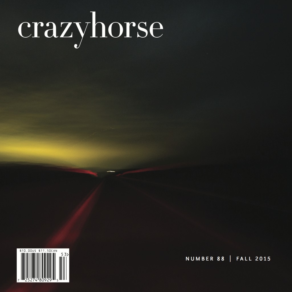 Our current issue, Crazyhorse no. 88