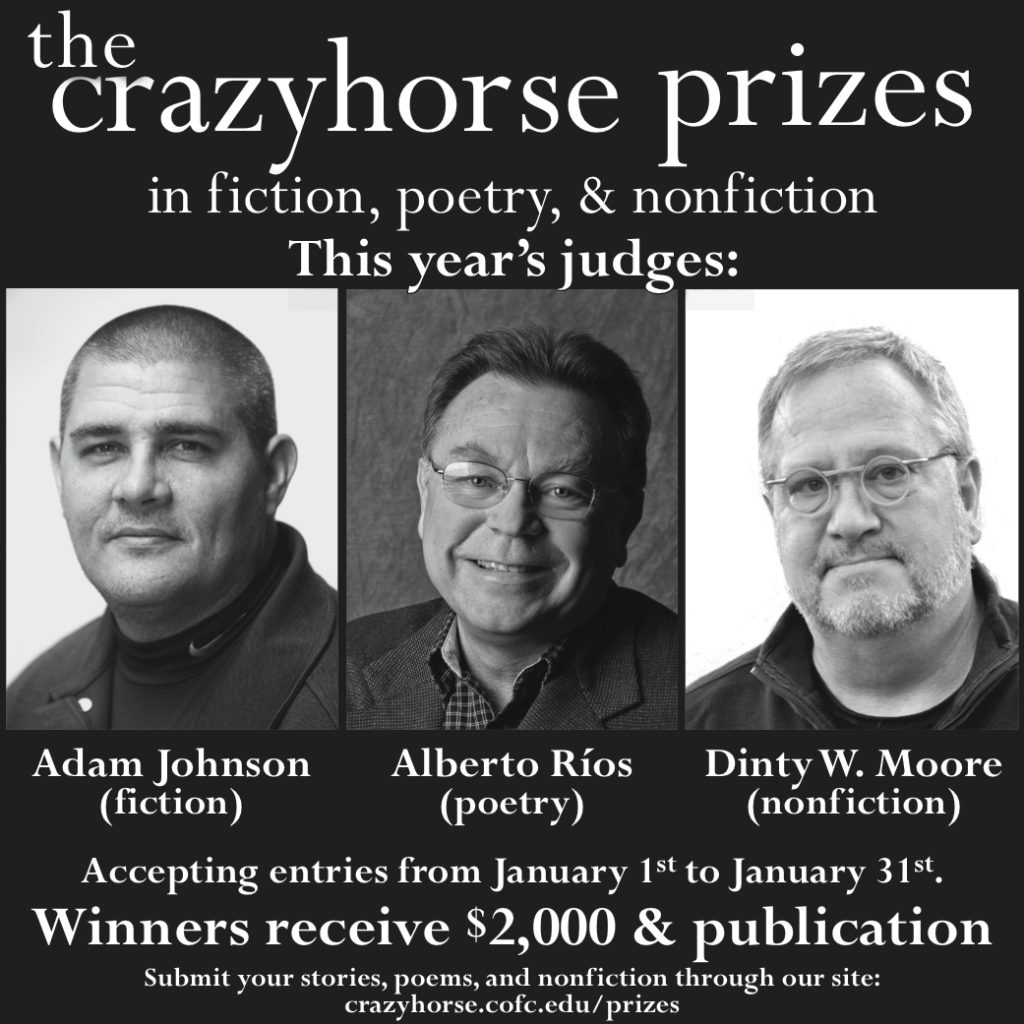 The 2015 Crazyhorse Prizes