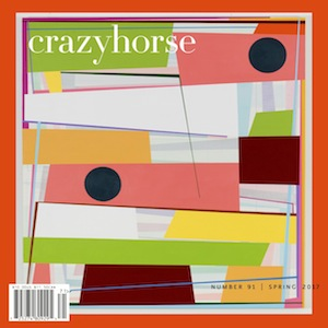 Our current issue, Crazyhorse no. 91